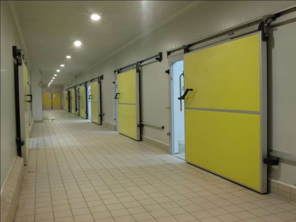 For the cold storage of products in the food-  chemical- and health- industry polyurethane insulation materials are also used in the wings of the cold ... & Cold Storage Doors | AppElma